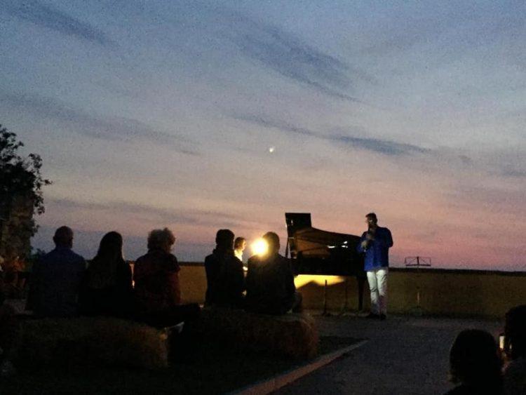 Tarquinia, dal tramonto all'alba