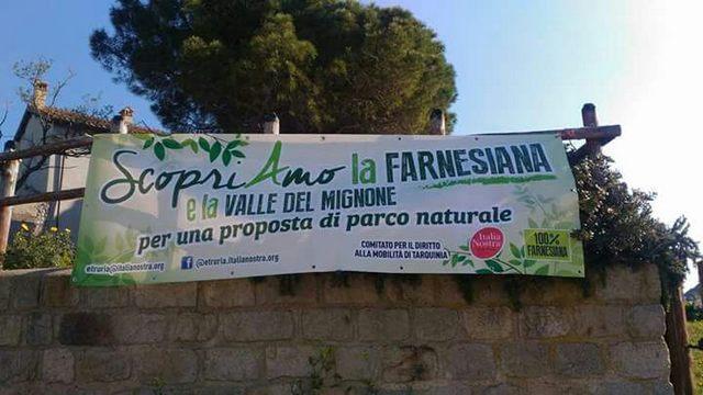 Area naturalistica protetta della Farnesiana e della Valle del Mignone, il progetto sarà condiviso