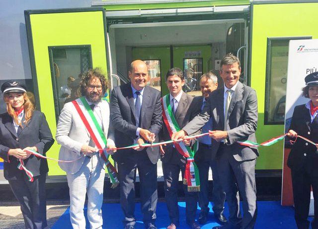 """""""Il nuovo treno Vivalto contribuirà al miglioramento della qualità del trasporto pubblico"""""""