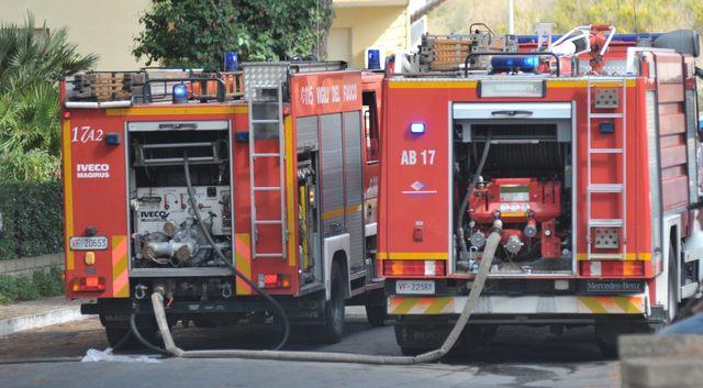 Appartamento in fiamme: bambino ustionato