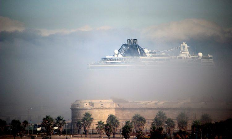 Nebbia alla marina (foto Angela Pierucci)