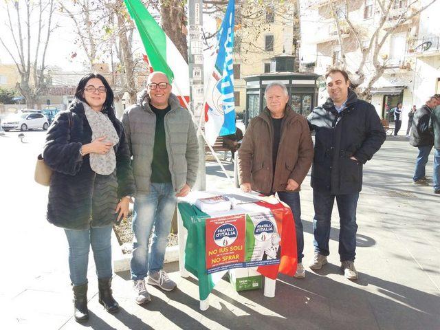 No Sprar, centrodestra unito: raccolte oltre 500 firme
