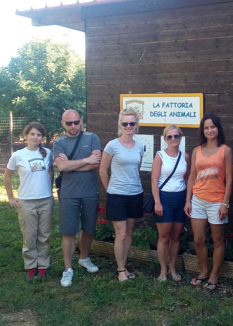 Dall'Europa alla Fattoria degli Animali di Ladispoli per imparare buone pratiche