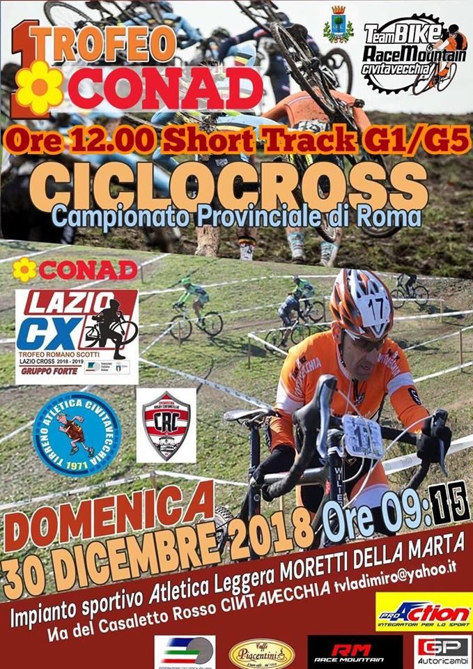 Il Team Bike Race Mountain riporta a Civitavecchia il grande ciclocross