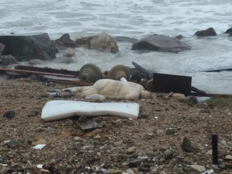 Trovato cadavere sulla spiaggia di Santa Marinella