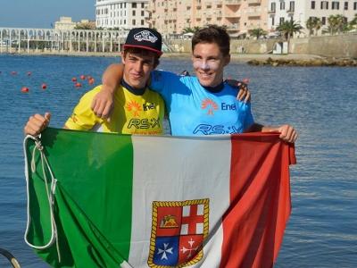 Camboni e Benedetti di scena domani nelle semifinali, venerdì la Medal Race