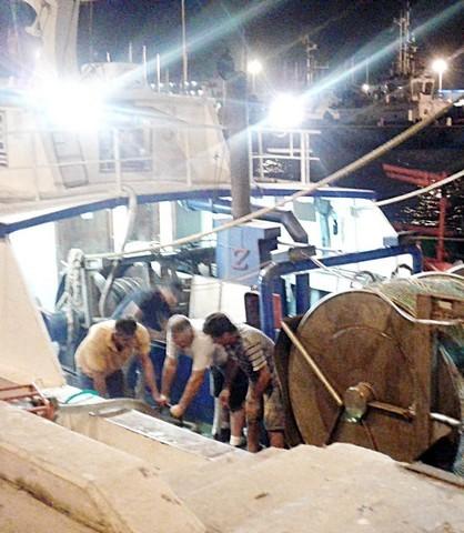 Notte di paura al porto canale di Fiumicino