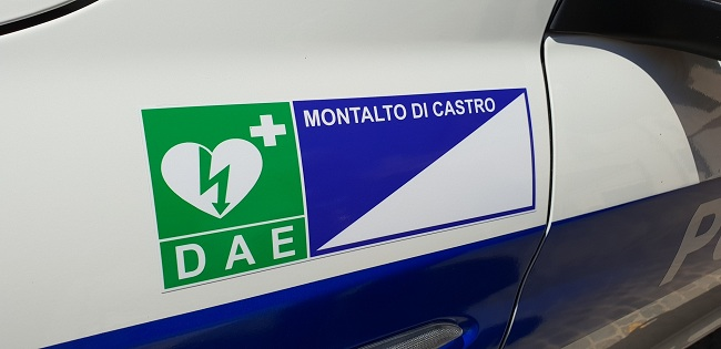 Installati cinque defibrillatori sul territorio comunale
