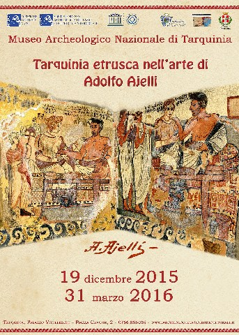 Tarquinia etrusca nell'arte del pittore Adolfo Ajelli