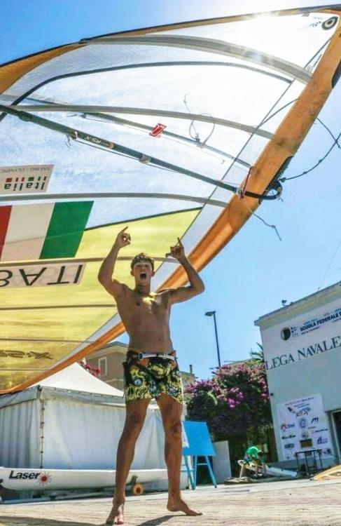 Mattia Camboni in Brasile per il test event olimpico