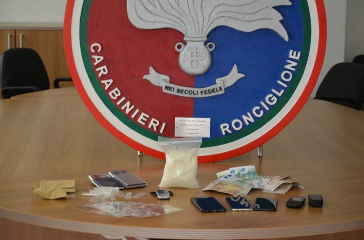 Carabinieri, sequestrato più di mezzo chilo di shaboo: due arresti