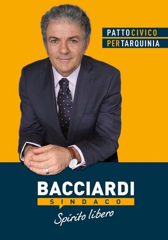 """I candidati a consiglieri della lista """"Tarquinia bene comune"""" per Renato Bacciardi sindaco"""
