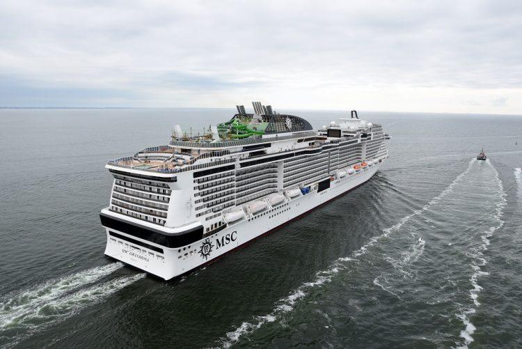 Msc Grandiosa: la nave ecologica farà tappa a Civitavecchia