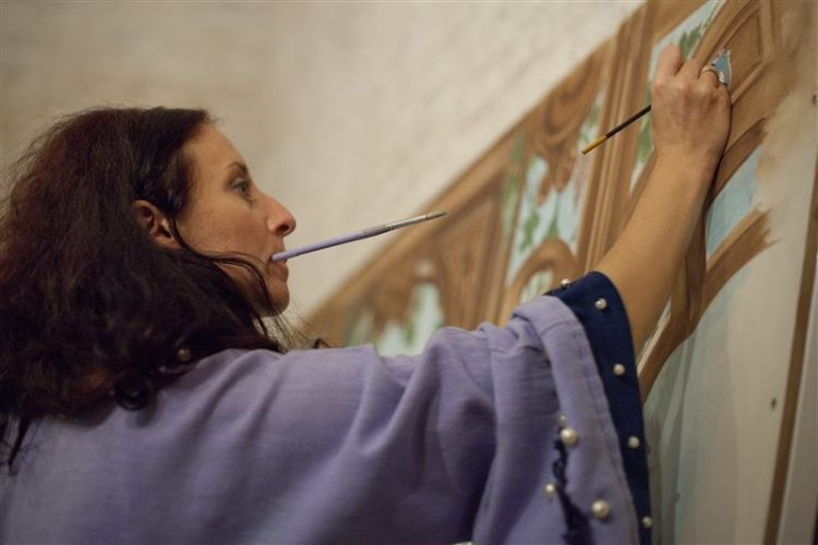Grande successo per l'artista Viola Rojo protagonista a Tolfarte