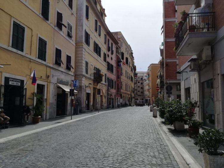 Via Trieste, una landa desolata