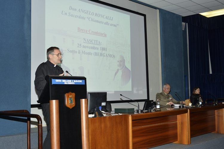 Angelo Roncalli soldato: grande partecipazione al convegno al Cesiva