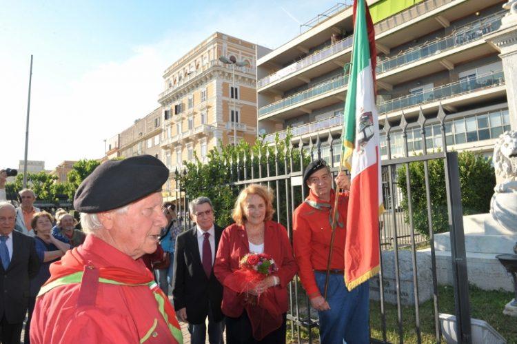 Garibaldini a congresso a Civitavecchia
