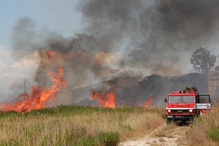 Giornata di incendi