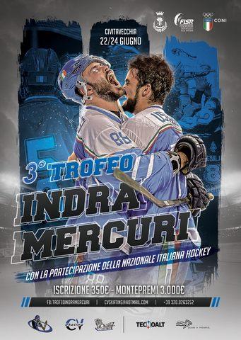 La nazionale italiana approda al terzo Trofeo Indra Mercuri