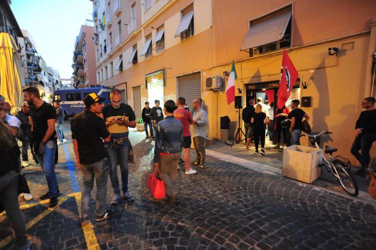 Antifascisti e Casapound: Civitavecchia blindata