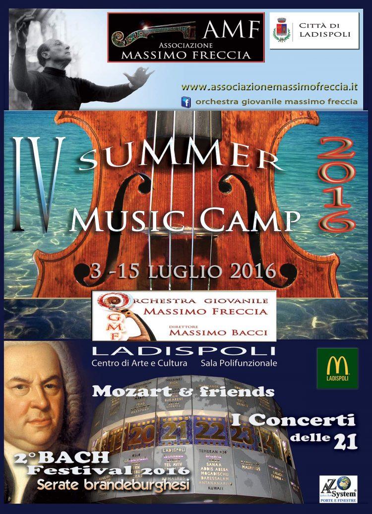 Al via il quarto Summer Music Camp