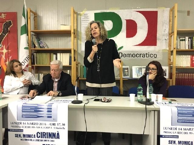 Unioni civili: successo del convegno nella sede del Pd