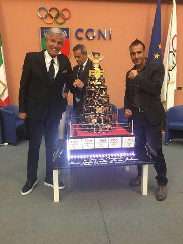 Emiliano Marsili ospite alla celebrazione del mito di Nino Benvenuti