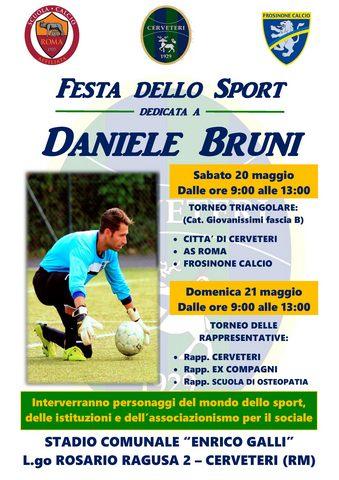 Due giorni di Festa dello Sport nel ricordo di Daniele Bruni