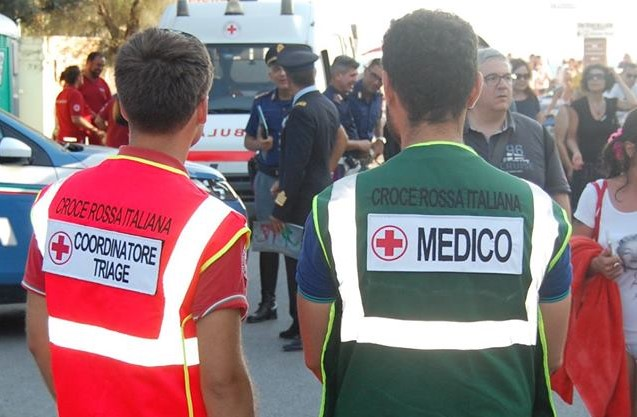Air Show Ladispoli, 28 gli interventi della Cri per piccoli traumi e colpi di calore