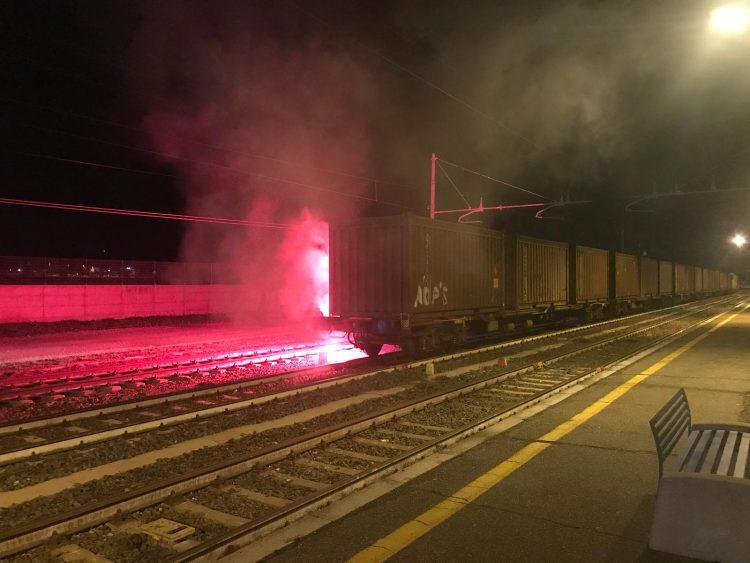 Treni, esercitazione di emergenza sui binari di Santa Severa