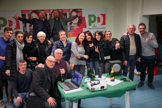 Marietta Tidei entra alla Pisana