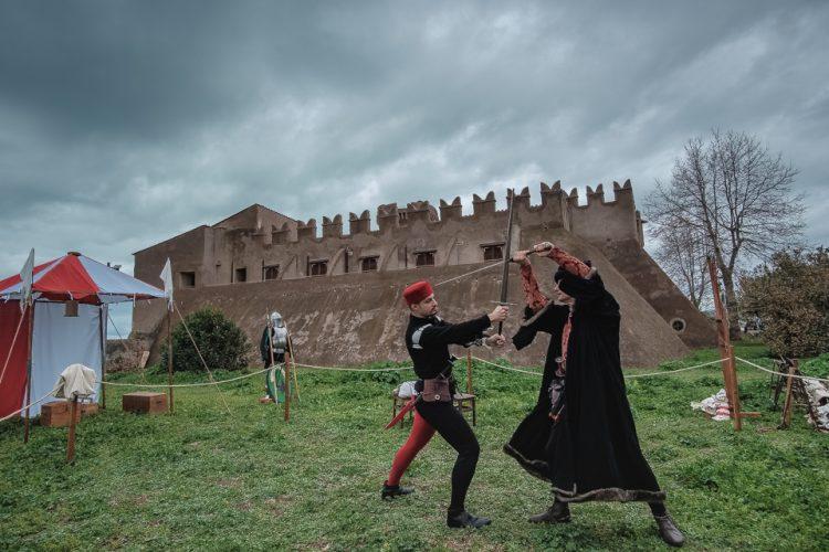 Il duello (foto Raffaele Ballirano)