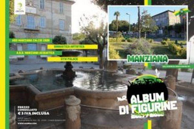 Il primo album di figurine di Manziana