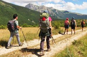 Quarta edizione di 'Trekking Solidale'