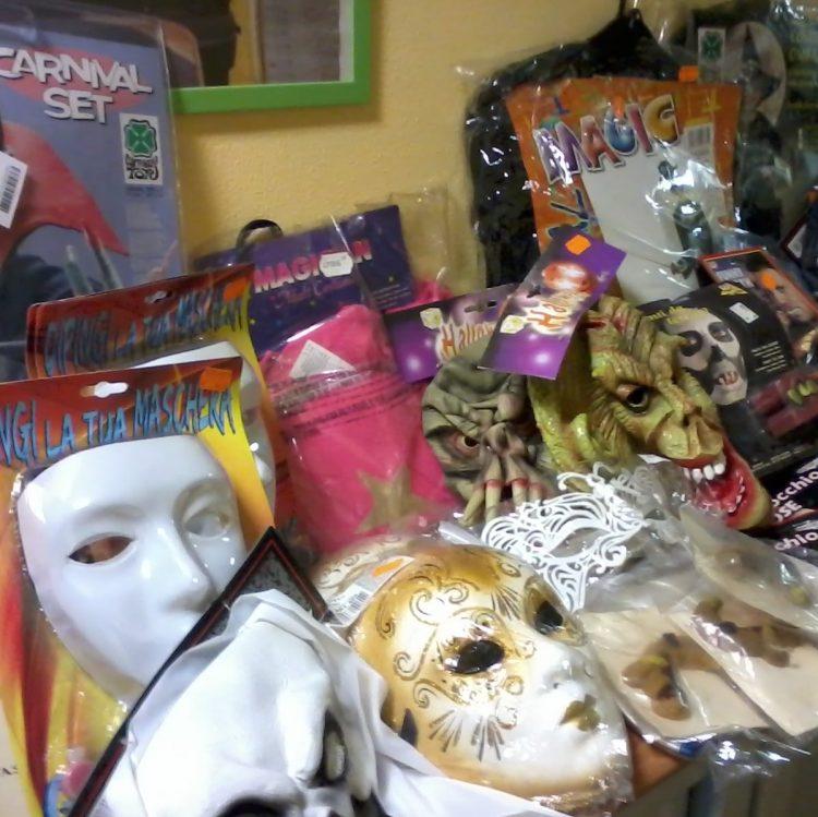 """""""Carnevale sicuro"""" , sequestrate oltre 1700 maschere"""