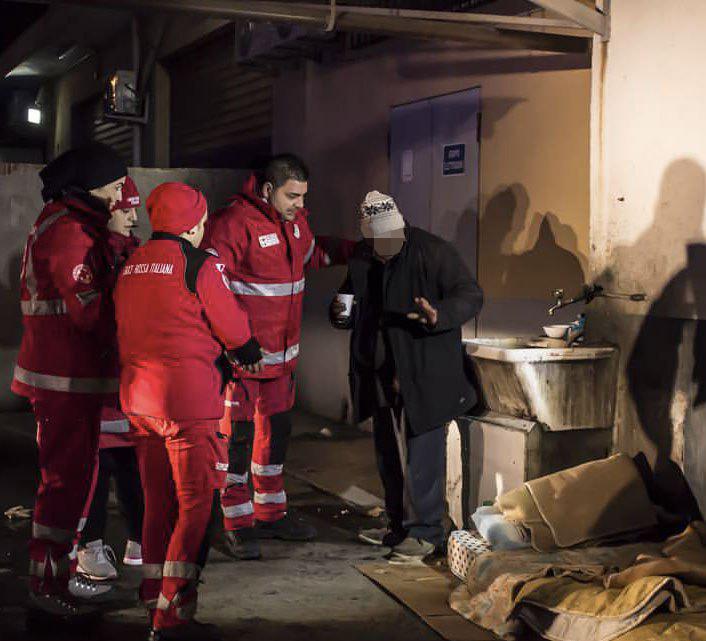 Emergenza freddo, partite le attività di accoglienza della Croce rossa
