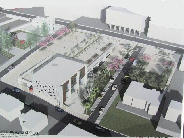 Nuova piazza comunale: c'è il progetto