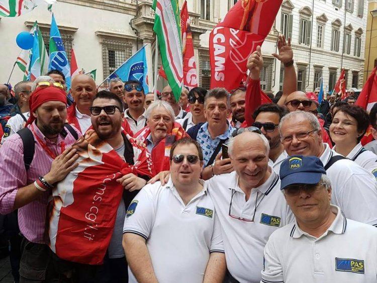 Guardie giurate in piazza a Roma: presenti anche Pas e Securitas Metronotte