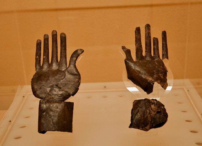 Le mani d'argento approdate nel cuore dell'Europa