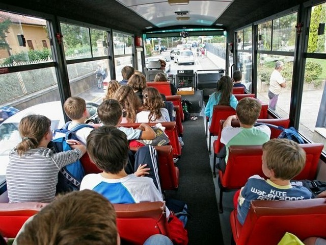 Trasporto scolastico: aperte le preiscrizioni