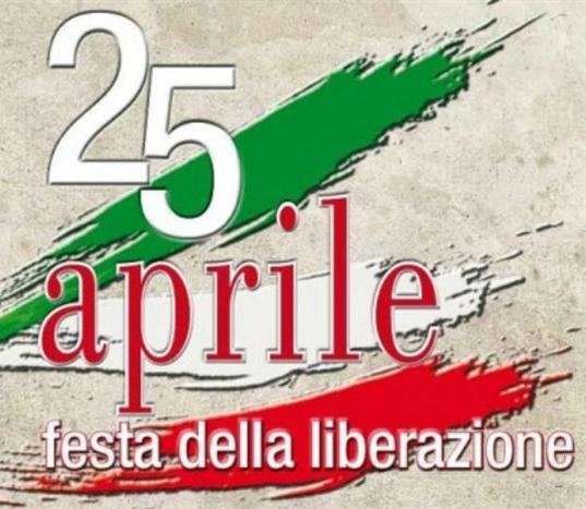 Ecco il programma per la festa della liberazione