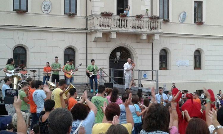 Flash Mob per aprire la ''Festa  della Musica''