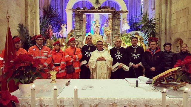 Tarquinia, Ordine di Malta e Cisom per la Festa del Battesimo del Signore