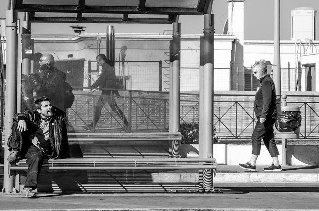 L'attesa (foto Enrico Paravani)
