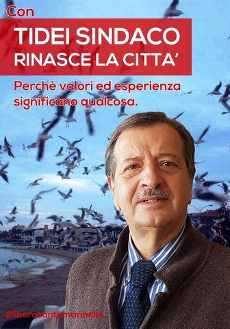 Pietro Tidei apre la campagna elettorale