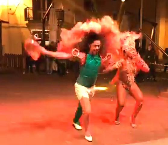 Capodanno: Samba Brasil show piace ai civitavecchiesi