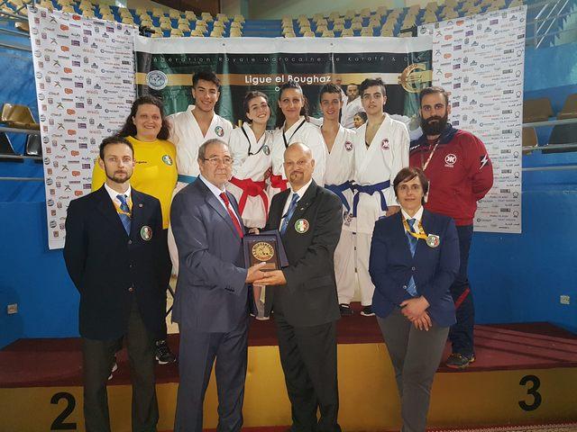 Gli atleti della Meiji Kan alla conquista del Marocco