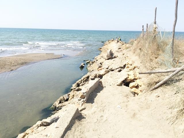 Erosione, pronta la protesta