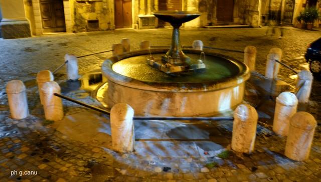 Piazza Leandra (foto Giovanni Canu)