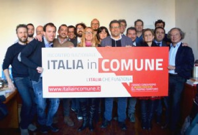 Nasce l'associazione ''Italia in Comune''